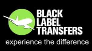 Logo for airport transfers Gold Coast to Brisbane company Black Label Transfers
