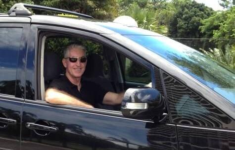 Brisbane airport private transfer vehicle